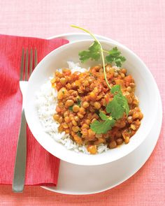 Curried Lentils