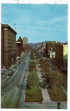 Central Parkway Cincinnati Oh Hamilton County Postcard 020313 | eBay