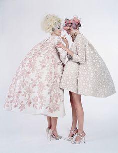 Giambattista Valli spring 2013 couture. Tim Walker for W Magazine