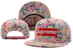 Supreme Flower Snapback Hat (4) , cheap discount  $5.9 - www.hatsmalls.com
