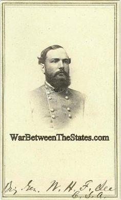 CDV General William Henry Fitzhugh Lee