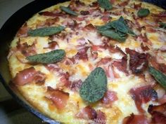 Baked Sage Polenta with Prosciutto and Fontina Cheese by Cinnamon ...