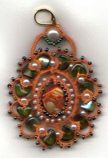 tatted jewels