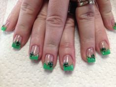My Nails for St. Patricks Day...LOVE them