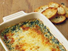 | hot spinach dip |