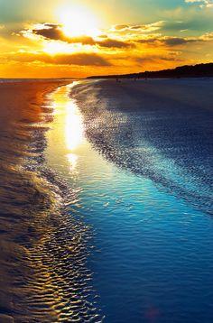 vacation spots, beaches, hilton head island, sunset, sunris, islands, places, myrtle beach, south carolina