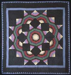 amish quilts, stars, young museum, handmad quilt, broken star
