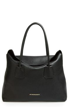 Burberry 'BAYNARD' LEATHER TOTE @Nordstrom