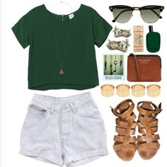 I love the shape of the tee! Cropped & boxy & silky with a cool long pendant. Ignore the cutoffs & sub lace shorts, cute!