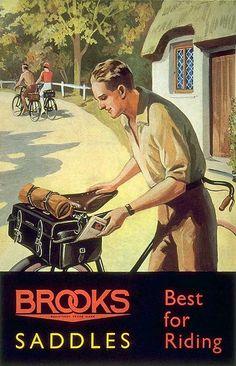 Brooks saddles...... Best for Riding!