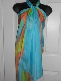 Handmade Silk Accessories for Cruise/Wedding/ Chakra Color Therapy ...