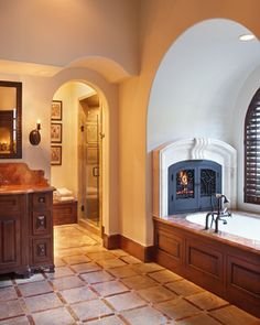 Fireplace Design Ideas, Pictures, Remodel, and Decor - page 6