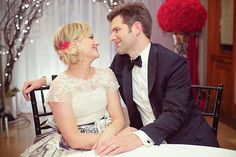 """Parks and Recreation"" Pinterest wedding album is adorable, of course"