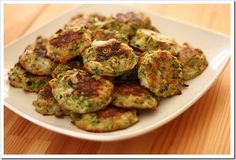 Baked zucchini rounds - make n freeze these instead of other recipe!