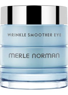 Wrinkle Smoother Eye  For all skin types and aging concerns.   Forget your lines! Formulated with Argireline, this advanced eye cream helps smooth out and minimize the appearance of fine lines around the eyes caused by smiling and squinting. What's more? Cucumber Extract helps reduce puffiness while optical diffusers help diminish dark circles. After one application, 74% of women felt their dark circles were diminished* and 70% felt their under-eye puffiness was diminished.* After 4 weeks of u