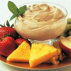 Creamy Cinnamon Dip: A delicious medley of flavors in this fruit dip enhances any fresh fruit tray.