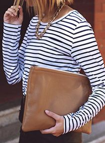 Breaking out the Breton stripes.