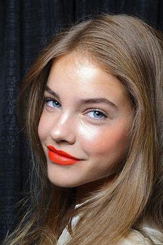 #fresh #orange #tangerine #makeup #look #beauty