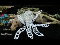 A Crochet Lace Octopus