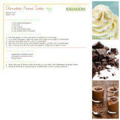 Kneaders Chocolate Panna Cotta #Kneaders