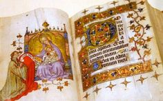 """Minute Book"" a rare 13th century book in Gulbenkian Museum in Lisboa, Portugal"