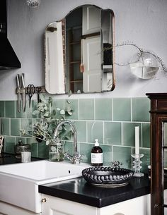 Beautiful mint tile