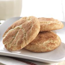 Gluten-Free Snickerdoodles made with baking mix: King Arthur Flour