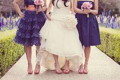 The Secrets for Successful Mismatched Bridesmaids