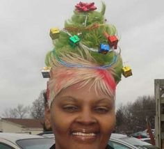 """""""Oh Christmas weave, oh Christmas weave."""""""