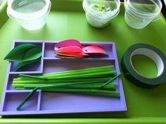 Rockabye Butterfly: Flower Play-dough Garden