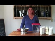 How to Make a Gluten-Free Flour Mix from Gluten Free Girl