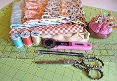 Weekend Wonders with Fabric.com: Crabtastic Kitchen Towels