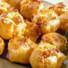 Bacon Cheddar Puffs - Recipes, Dinner Ideas, Healthy Recipes & Food Guide