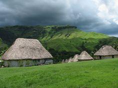 Navala village, Fiji #jetsettercurator