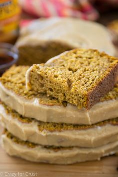 Pumpkin Bread with Maple Glaze - moist and perfect, this is my favorite pumpkin bread recipe!