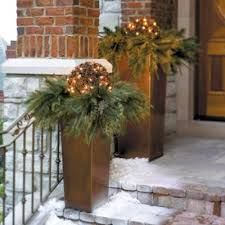 outside christmas decorations - Google Search