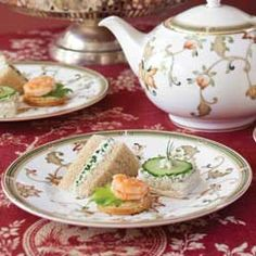 A Tea Sandwich Primer.  A list of Tea Sandwich recipes from Tea Time Magazine