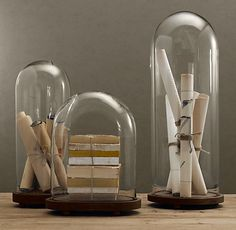 French Glass Cloches