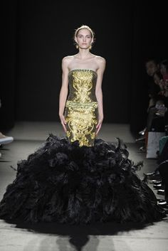 Laurence Xu Couture Fall 2013 Collection.