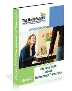 Homeschool Transcripts | Homeschool High School – TheHomeScholar.com