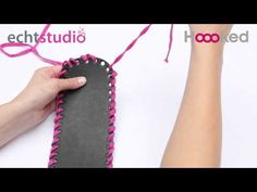 How to attach a  Hoooked bag base to your bag