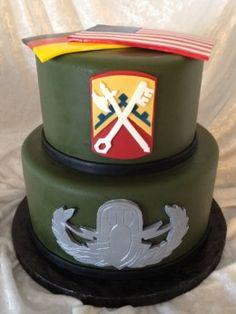 EOD Cake by KaraBoo Bakery #eod #navyeod #karaboobakery