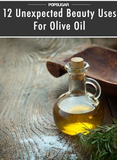 Did you know you can use olive oil as an ear wax remedy? #DIY