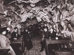 Heaven and Hell nightclubs of 1890s Paris.