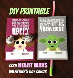 Printable Valentine Cards - 12 fun designs!