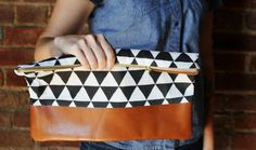 Why Buy When You Can DIY This Slouchy Clutch?