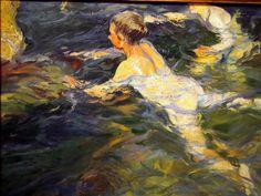 Joaquín Sorolla y Bastida (27 February 1863 – 10 August 1923) was a Valencian Spanish painter.