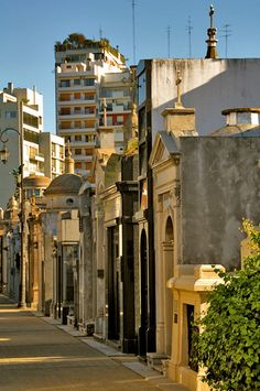 Cemetery street, a photo from Buenos Aires, South | TrekEarth