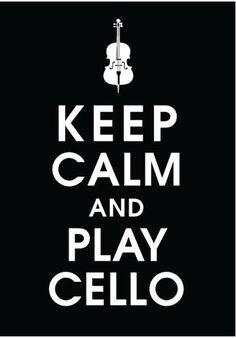 The cello sounds amazing.