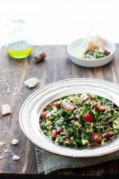 Healthy Easy Tabbouleh Recipe #Yum #Snacks #Veggies